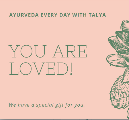Gift Certificate 2-Hour Ayurvedic Pulse Reading