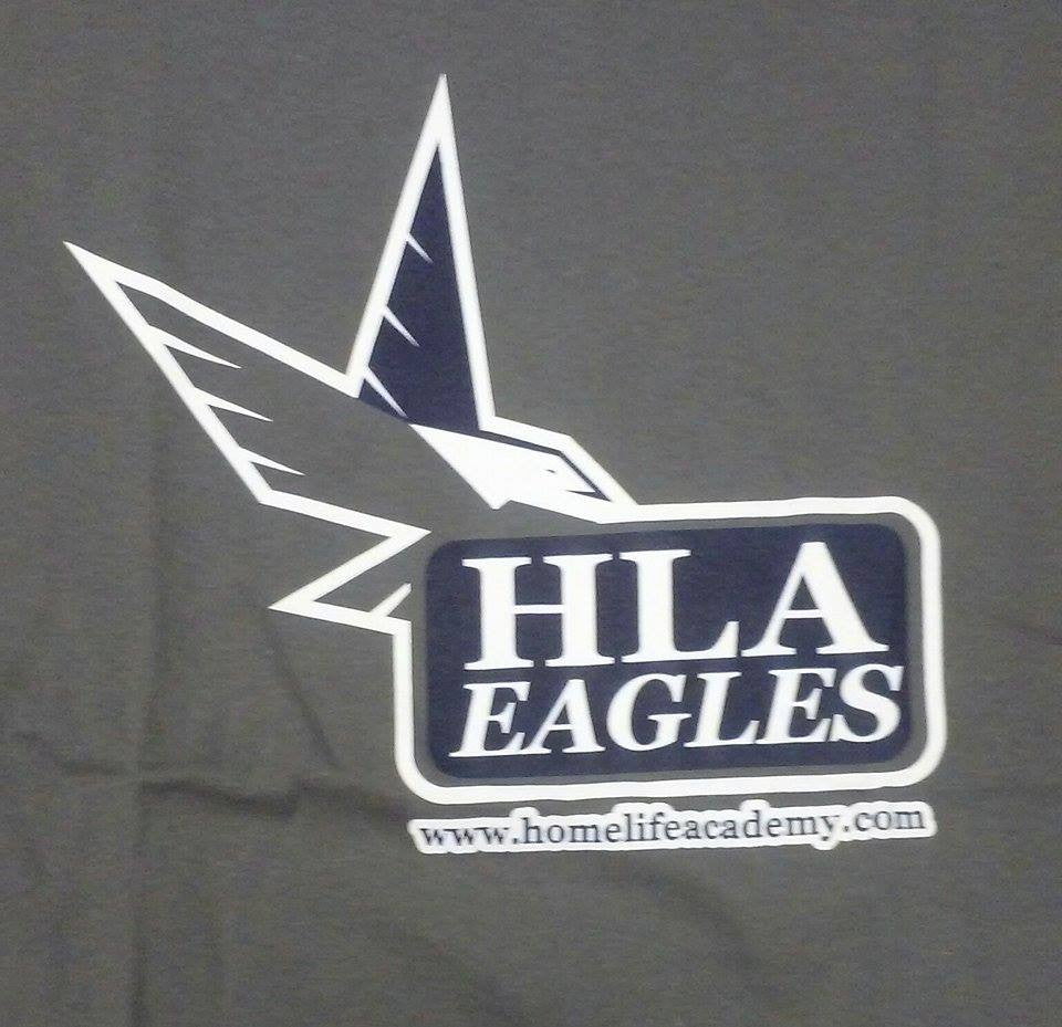 HLA Eagles T-Shirt - Charcoal