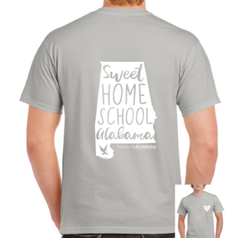 "Unisex ""Sweet Homeschool Alabama"" Graphic Tee"