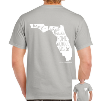 "Unisex ""Hand-Picked Florida Homeschoolers""  Graphic Tee"