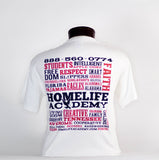 "Unisex ""HomeLife Academy"" Graphic Tee"