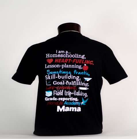 "Women's ""I am a... HomeLife Academy Mama"" Graphic Tee"