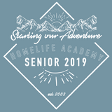 "Unisex ""Starting Our Adventure Senior 2019"" Graphic Tee"