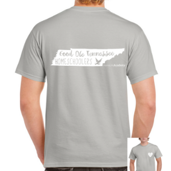 "Unisex ""Good Ole Tennessee Homeschoolers"" Graphic Tee"