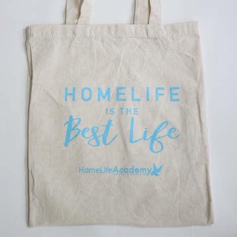 """HomeLife is the Best Life"" Tote Bag"