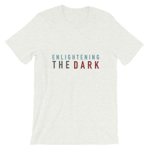 "BES x ETD ""Enlightening the Dark"" Gray Graphic Tee"