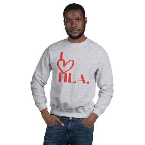 "Unisex ""I Heart HLA"" Sweatshirt"