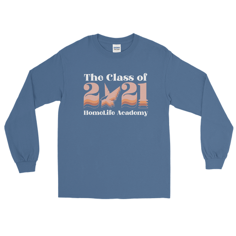 "Unisex ""The Class of 2021"" Long Sleeve Graphic Tee"