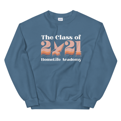 "Unisex ""The Class of 2021"" Sweatshirt"