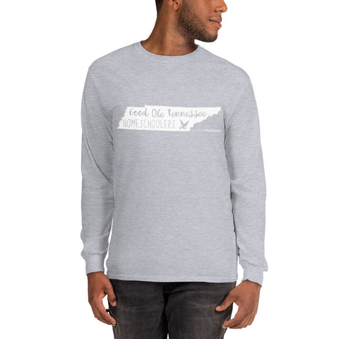 "Unisex ""Good Ole Tennessee Homeschoolers"" Long Sleeve Tee"