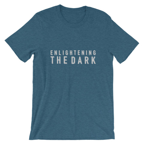 "BES x ETD ""Enlightening the Dark"" Blue Graphic Tee"