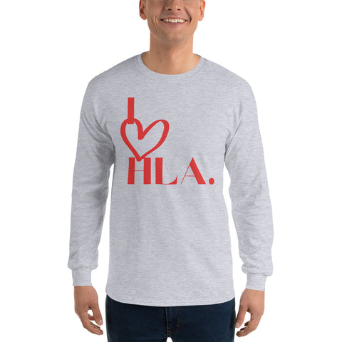 "Unisex ""I Heart HLA"" Long Sleeve Tee"