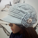 Wool Hat with Visor