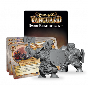 Kings of War - Vanguard: Dwarf Reinforcement Pack