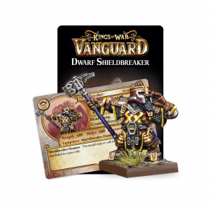 Kings of War - Vanguard: Dwarf Support Shieldbreaker