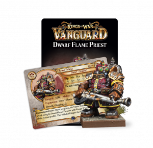 Kings of War - Vanguard: Dwarf Support Pack Flame Priest