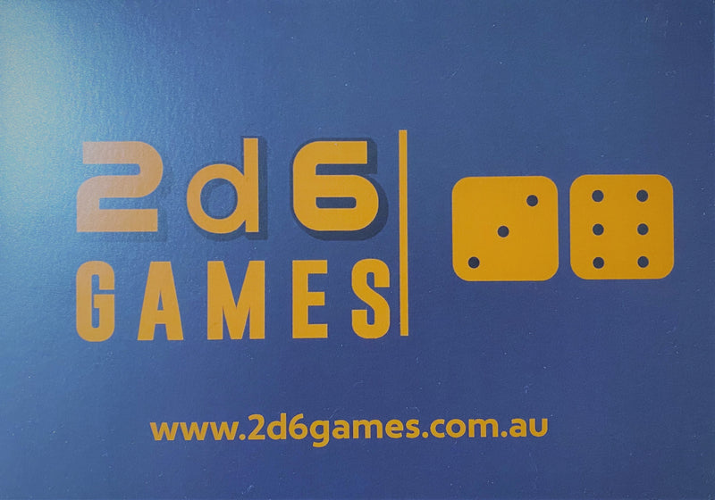 2d6 Games Gift Card