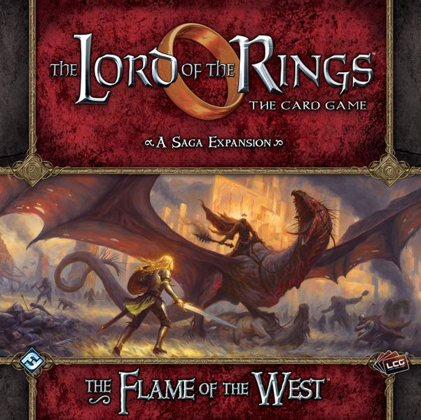 The Lord of the Rings: The Card Game – The Flame of the West Saga Expansion