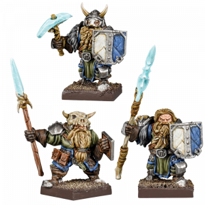 Kings of War - Vanguard: Northern Alliance Dwarf Clansmen Reinforcements