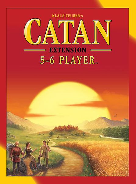 Catan 5th Edition 5 and 6 player Extension