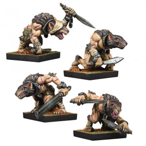 Kings of War - Vanguard: Abyssal Dwarf Ratkin Slaves Reinforcements