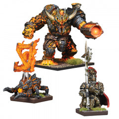 Kings of War - Vanguard: Abyssal Dwarf Warband Booster