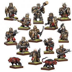 Kings of War - Vanguard: Abyssal Dwarf Warband Set
