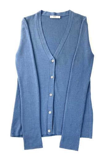 Prada Blue Cashmere Cardigan Sweater | M/L
