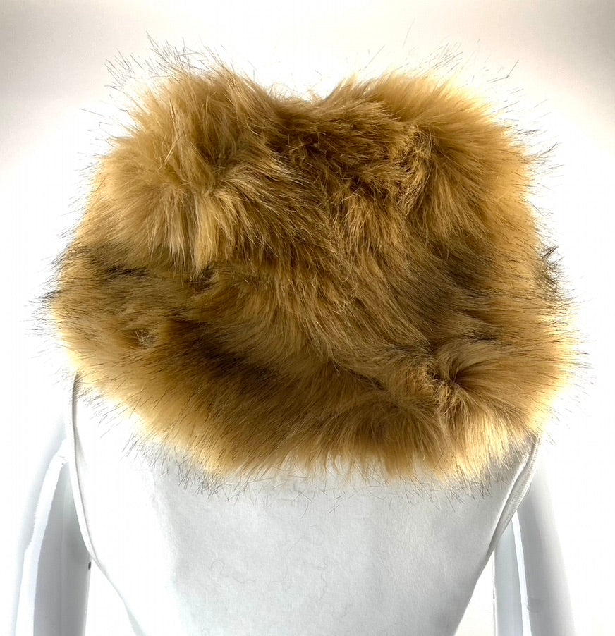 Simonetta Faux Fur Collar Scarf | NEW