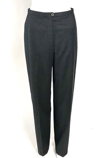 Giorgio Armani Cashmere Grey High-Waisted Pants | M