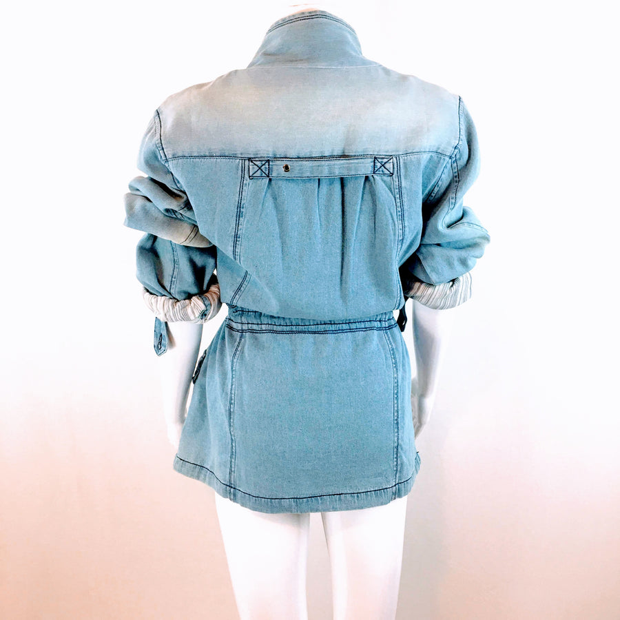 Kayla Seo Chambray Denim Jacket | NWT M