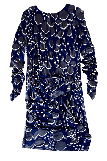 Peter Pilotto Ruched Silk Dress | US 10