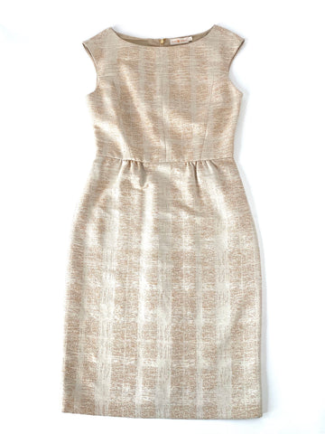 Tory Burch Textured Shift Dress | 8