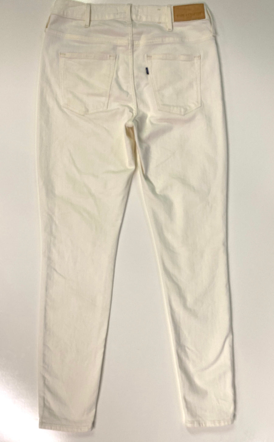 Levi's Empire Skinny Off White Denims | 32