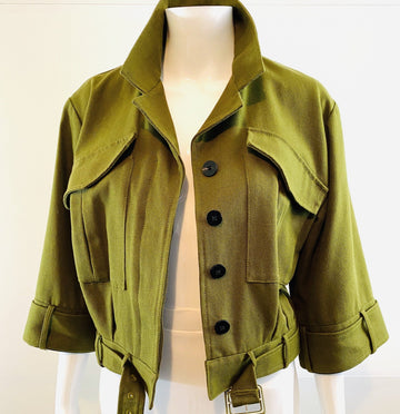 Derek Lam 10 Crosby Modern Military Jacket | US 8