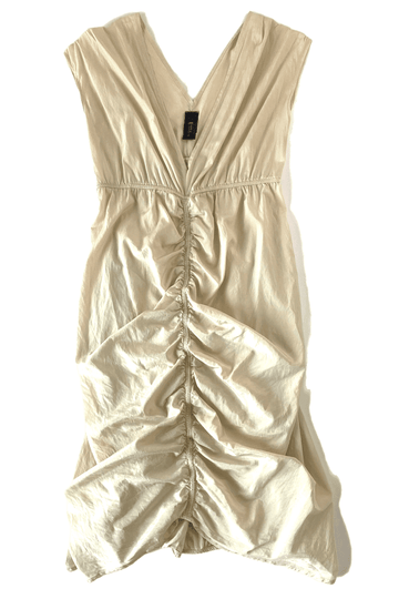 Zero + Maria Cornejo Silk Ruched Slip Dress | 8