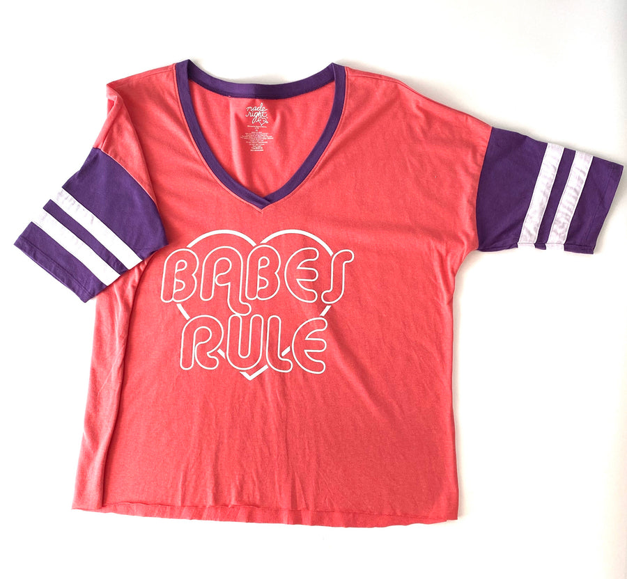 Babes Rule T Shirt | XL