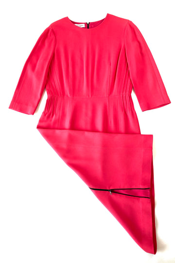 Narciso Rodriguez Peony Midi Length Scuba Dress | IT 46