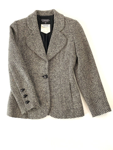 Chanel Boutique Vintage 1994 Wool Tweed Blazer | FR 38