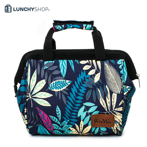 sac isotherme tropical jungle logo lunchyshop