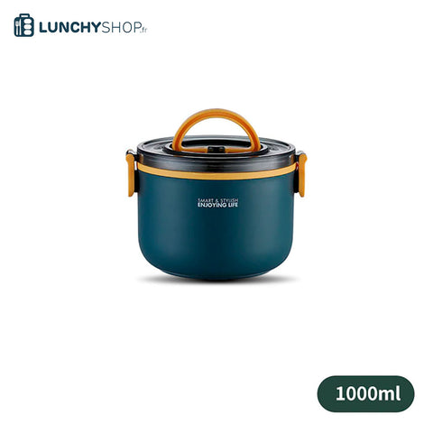 lunch box isotherme ronde color un element sur fond blanc logo lunchyshop