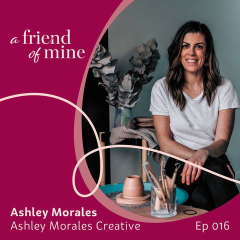 Ashley Morales' successful pivot from makeup to pottery