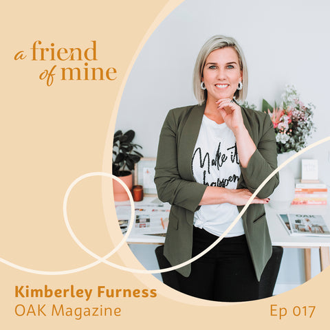 Building a community through print with Kimberley Furness