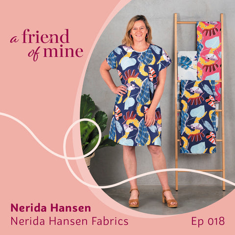 Nerida Hansen on weaving her way to the top