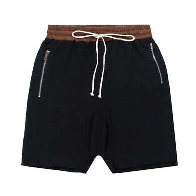 Classic Cotton Black Lounge Shorts