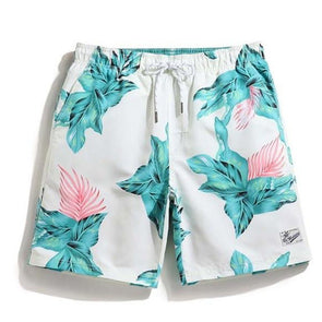 South Beach Floral Swim Trunks
