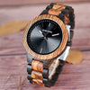 Chrome Magnesis Wood Watch