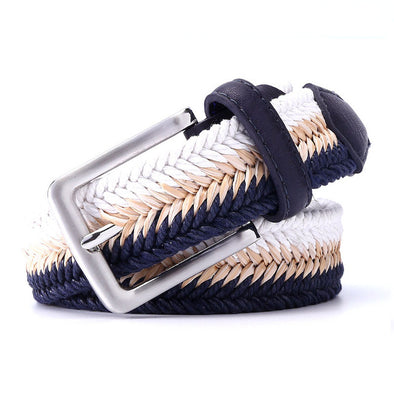 Wave Crash Braided Belt