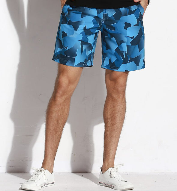 Cracked Ice Swim Trunks