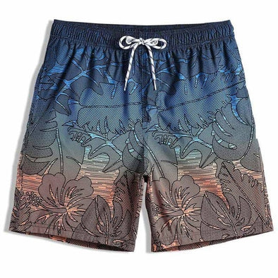 Hawaiian Sunset Swim Trunks